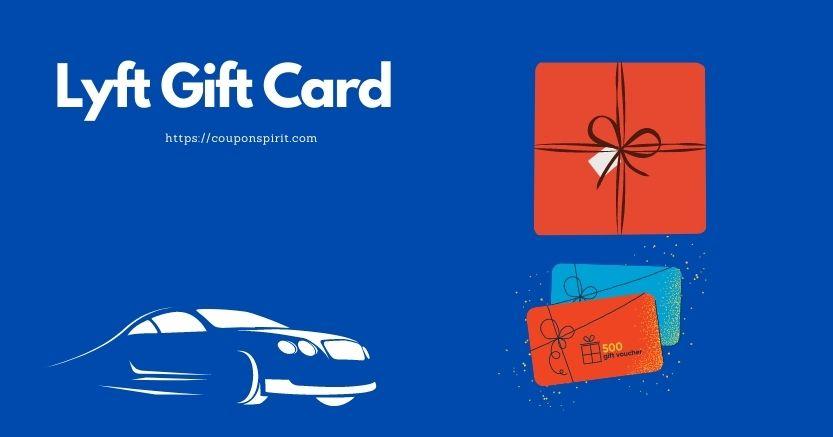 Lyft Gift card