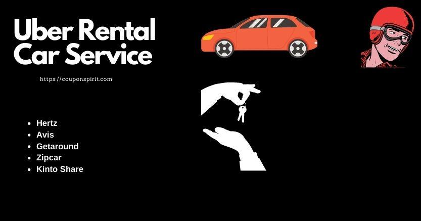 Uber rental car