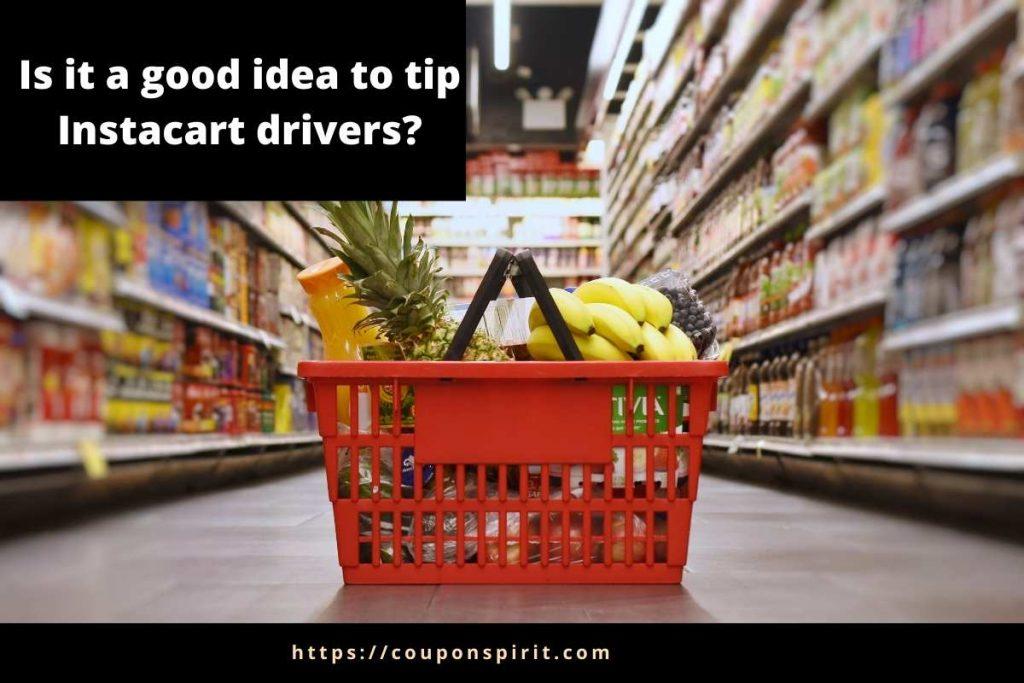 Instacart tipping
