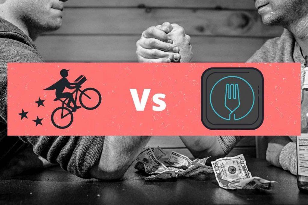 Postmates vs Uber eats