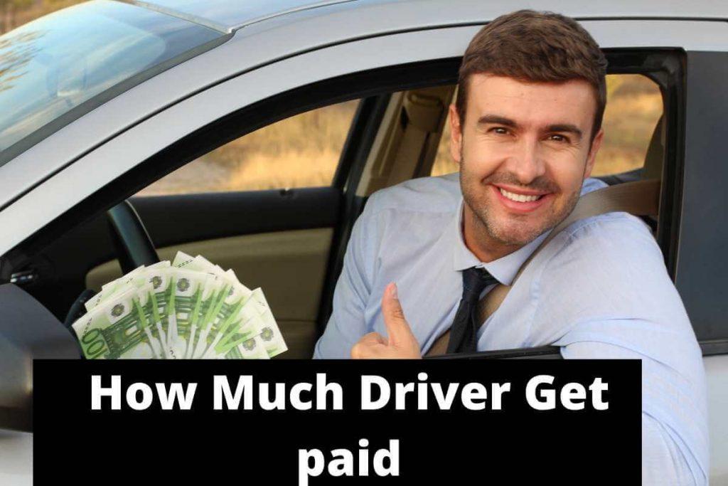 Ubereats and postmates driver salary