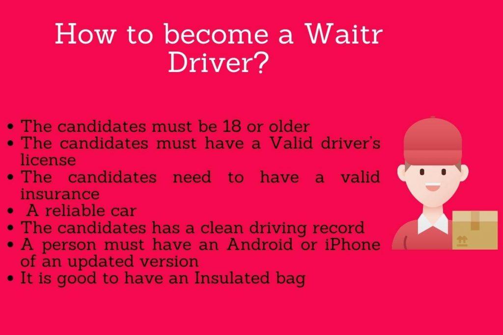 become waitr driver